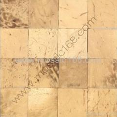 白椰壳平面马赛克装饰板