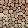 Handmade wood panel