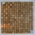 oak wood mosaic tile 1