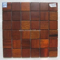 rosewood mosaic solid wood mosaic