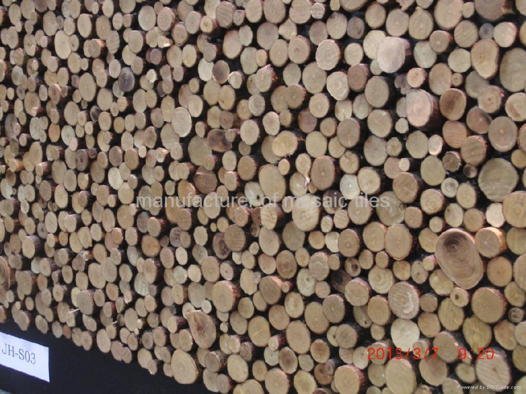 Round Design Home Decoration Wooden Wall Panels China Manufacturer