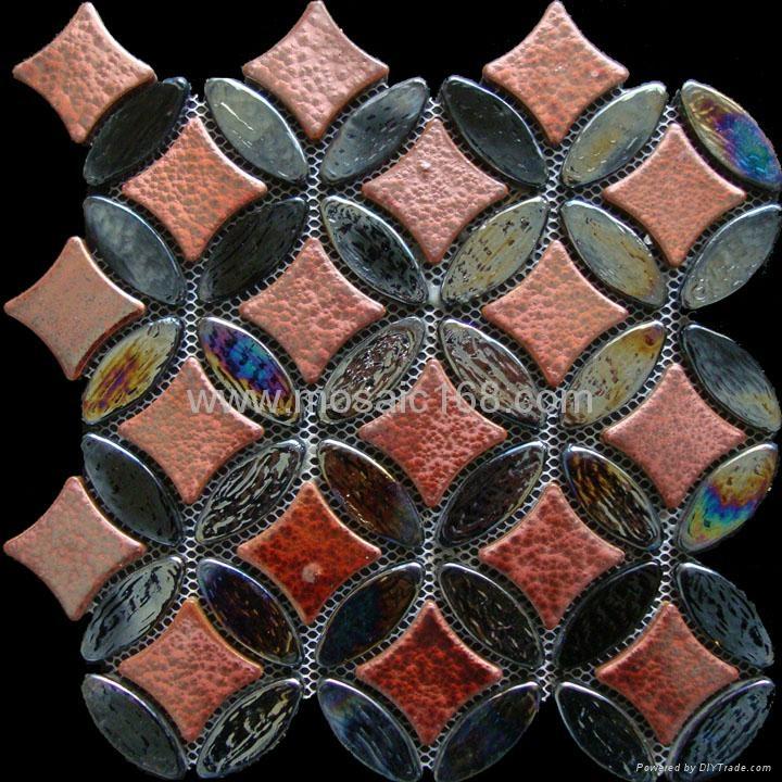 厂家供应窑变陶瓷玻璃马赛克 2