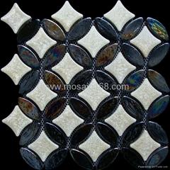 窯變陶瓷馬賽克,玻璃馬賽克地面磚