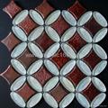 窑变陶瓷马赛克,玻璃马赛克地面砖 2