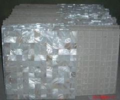 淡水贝马赛克贴面砖,珍珠贝母瓷砖