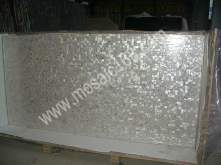 淡水贝马赛克贴面砖,珍珠贝母瓷砖 3