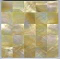 Yellow mop mosaic decor panel