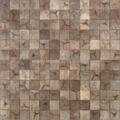 coconut shell mosaic wood panel