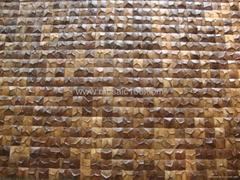 椰殼馬賽克,椰殼板,裝飾板,飾面板