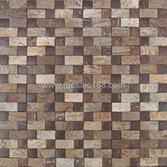 椰壳马赛克,椰壳板饰面板
