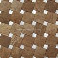 天然贝母椰壳马赛克装饰板 2