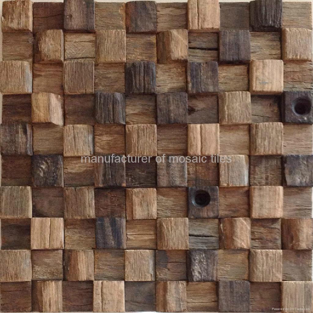 square ship wood mosaic MC9018 1 Gimare China