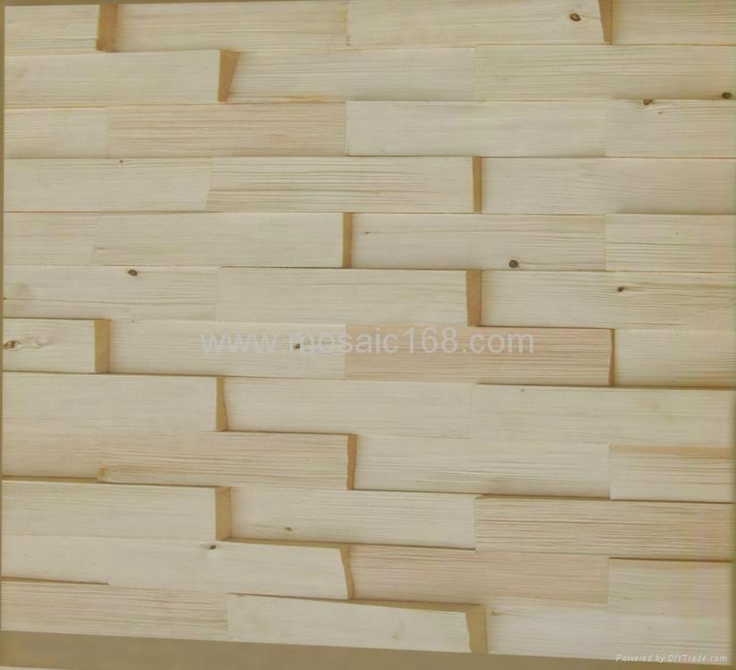 pine wood mosaic wall panels - JH-W10 - Gimare (China Manufacturer ...