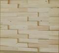 pine wood mosaic wall panels