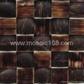 coconut mosaic wall panels
