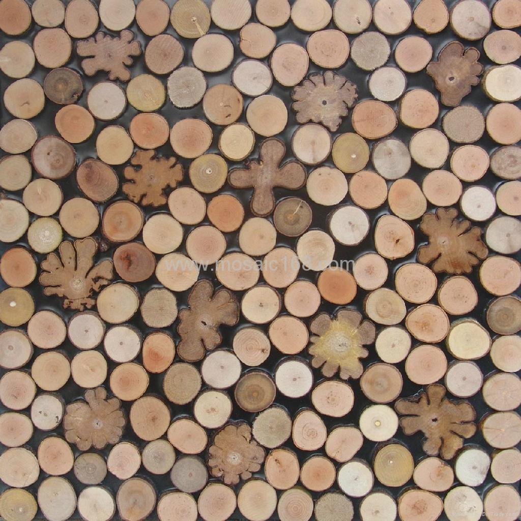 室内高低不平树枝板 3D墙板 1