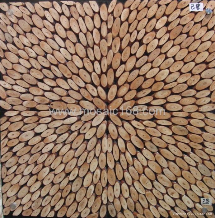 高低不平树枝板 3D墙板 1