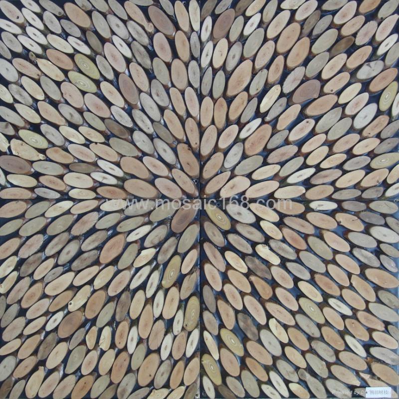 高低不平树枝板 3D墙板 2