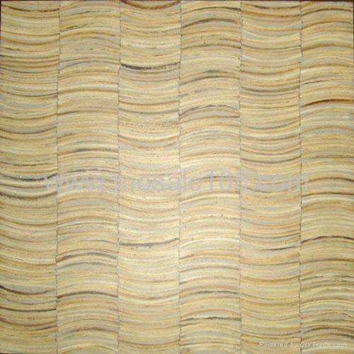白色椰壳马赛克装饰板 1