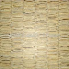 白色椰壳马赛克装饰板