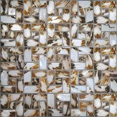 natural Shell mosaic wall panel