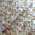 natural Shell mosaic mesh base