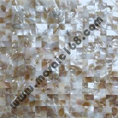 natural color Shell mosaic seamless design