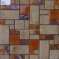 glass mosaic wall stone