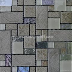 石材玻璃墙面马赛克