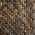 southeast coconut mosaic brown color