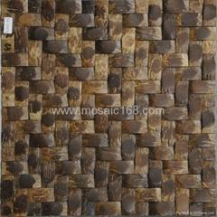 东南亚风格椰壳马赛克