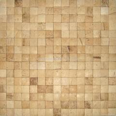 手工拼贴椰壳马赛克室内背景墙用