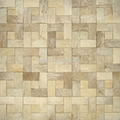 Chinese Coconut wood mosaic