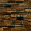 tiger eye stone slab wall panel