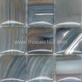 stripe agate mosaic