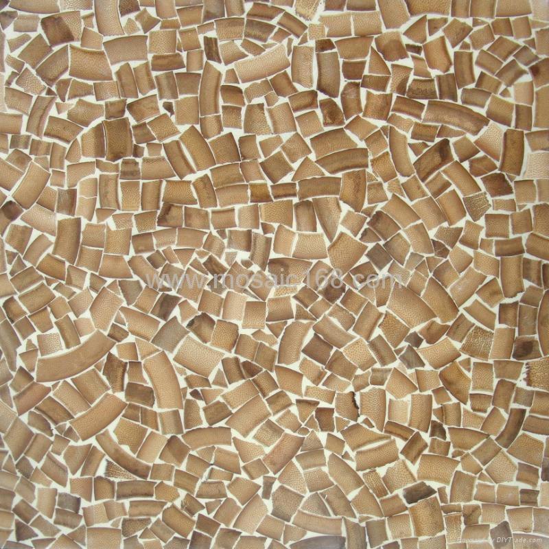 竹子马赛克背景墙装饰面板 3