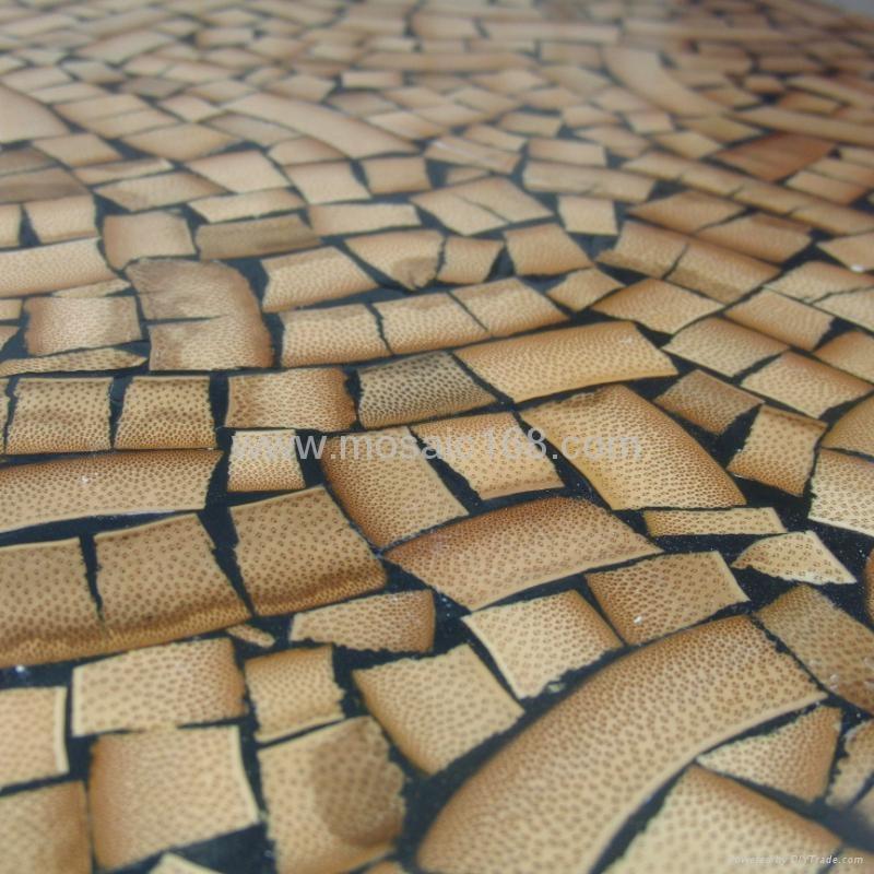 竹子马赛克背景墙装饰面板 4