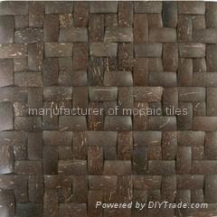 天然椰壳马赛克,椰壳板 4