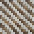 编织纹椰壳马赛克