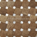 coconut & shell mosaic design