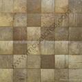 特制椰壳马赛克装饰板墙面 2