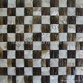 特制椰壳马赛克装饰板墙面 3