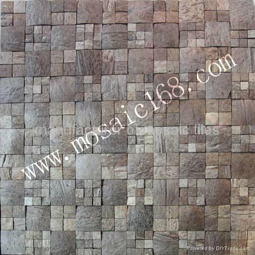 天然椰壳贝壳装饰板墙面 5