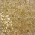 natural color shell paper mop mosaic