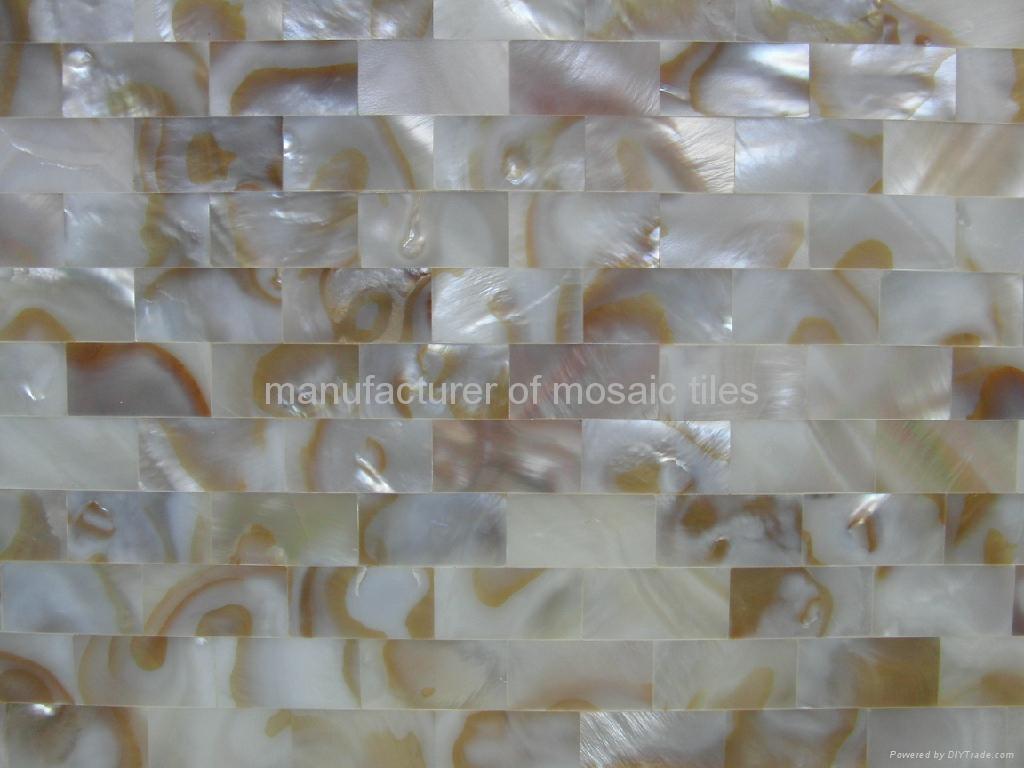 油花淡水贝装饰板 1