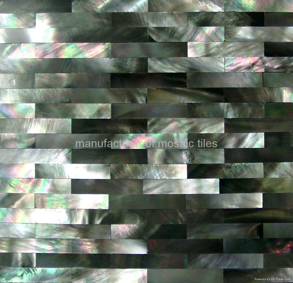 黑蝶贝马赛克装饰板 4
