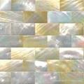 黄蝶贝裂纹拼马赛克装饰板 4