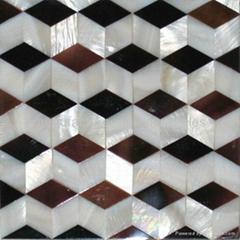 珍珠貝母拼花裝飾板
