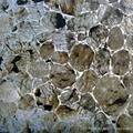 gleamy stone wall panel