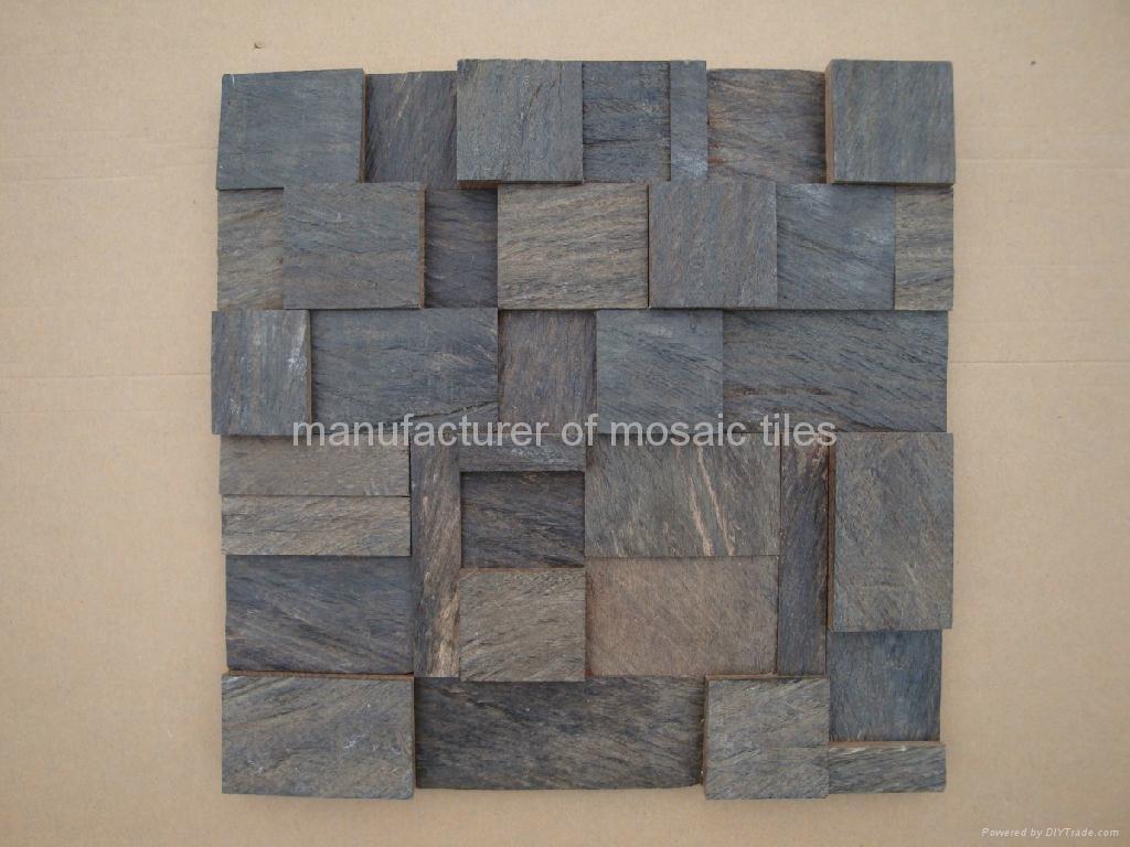 cumaru wood mosaic panels  3